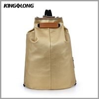 Fashion Custom Cute Canvas Wholesale Rolling Drawstring Backpack
