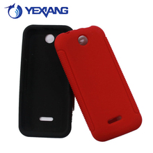 solid color silicone cell phone case for nokia 225 soft gel cover