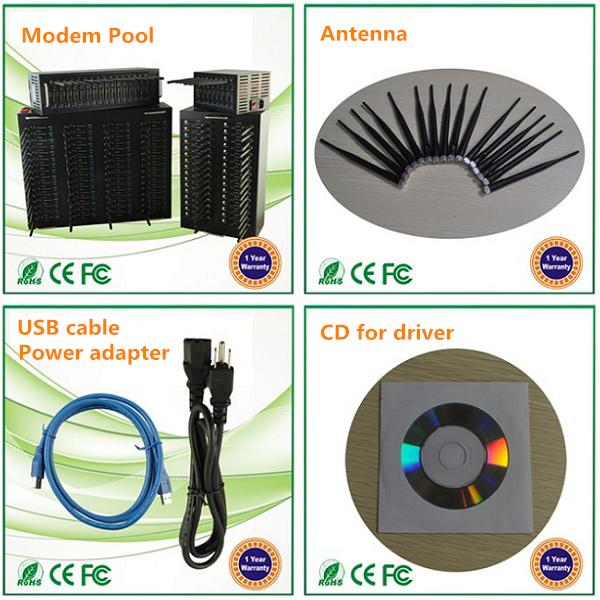 Cheap SIM5320 module USB interface 3G HSDPA multi ports modem pool support IMEI change, AT commands