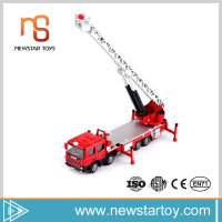 Modern simulation 1:50 metal car fire engine toys for kids