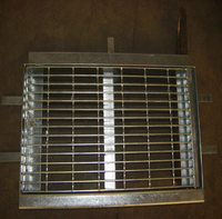hot dip galvanized mild steel road drainage grate trench cover