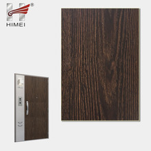 Hot Sale Wooden PVC Thin Plastic Steel Sheet For Metal Door