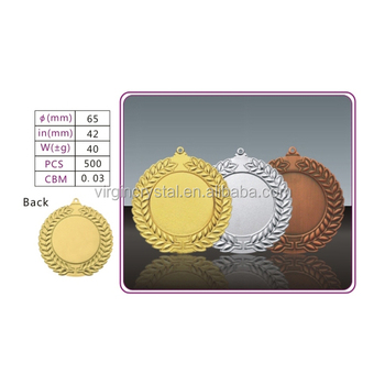Wholesale customized Gold sports metal medal
