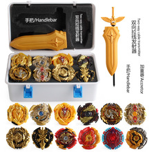 beyblades set with gold collect box launcher hadles XD168-21B