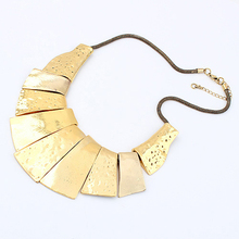 Brazil gold plating colorful jewelry punk metal chunky cute boy and girl pendant necklaces PN1304
