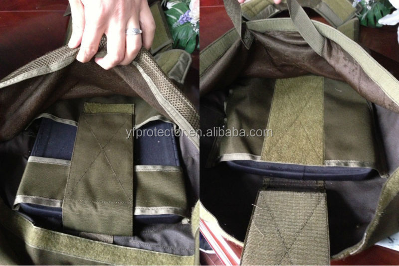 Military Tactical Bulletproof Vest With Pockets