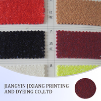 Beautiful multicolor knitted wool fabric for coats