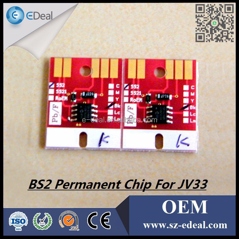 Best offer ! ink cartridge chip for Mimaki BS2 auto reset chip for Mimaki JV33 printer