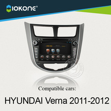 Wholesale 7'' Android touch screen car accessories For Hyundai Verna 2011 2012