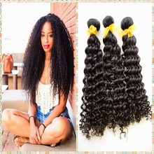 100% curly Wave Remy Hair Extensions Cheap fast shipping guangzhou supplier malaysian hair weave