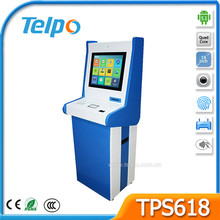 Easy 19 Inch TFT Display Screen Electronic Payment Machine With USB Port and RJ45