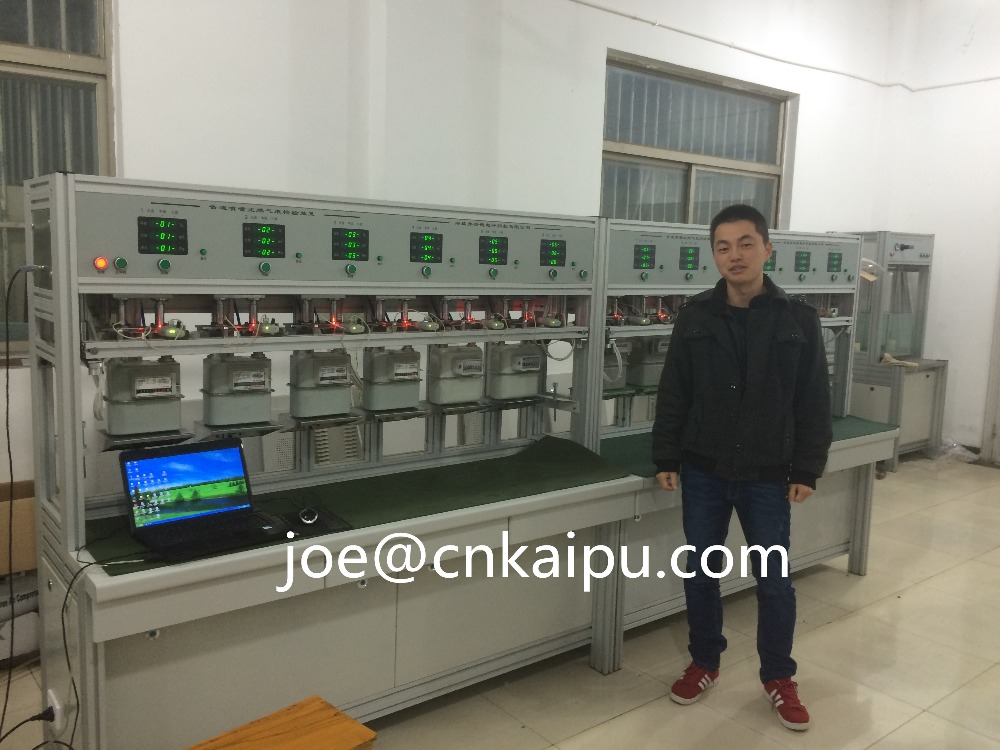 Gas meter test bench top quality in China