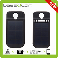 solar power flip case for samsung galaxy s4 active