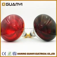 50w-375w tungsten halogen lamp infrared light for animals husbandry