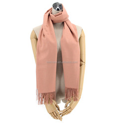 acrylic and viscose solid fashion cashmere feeling winter scarf, acrylic pashmina shawl