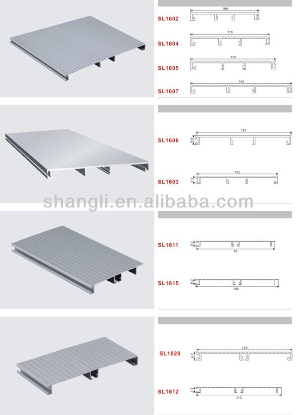 de aluminio perfil de zócalo para mueble de cocina-Accesorios para ...
