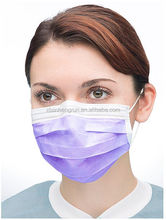Disposable Non Woven 3 Ply Surgical Earloop Face Masks