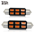 auto part LED 31mm 36mm42mm 5730Canbus 6SMD with heat sink non-polarity LED Interior lamp