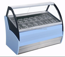 Ice cream blast freezer refrigerator/popsicles fridge cabinet/gelato display case for sale/chiller price(Factory direct)