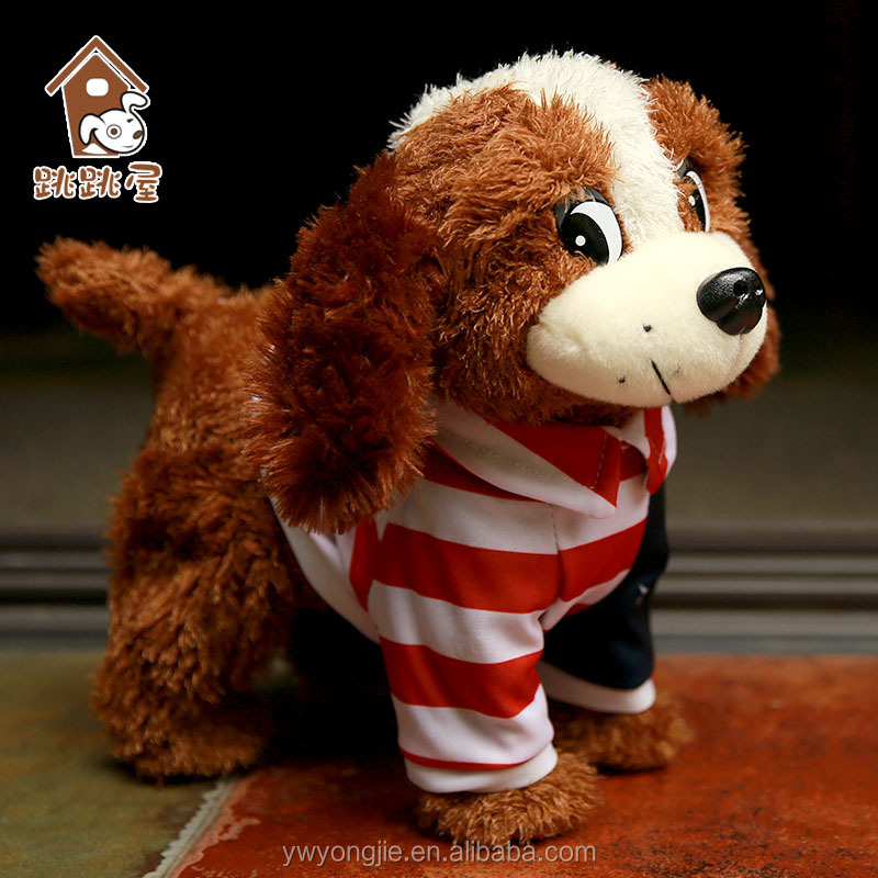 Electric Plush Singing Dogs Dog Toy Mechanical Toys For Kids Playing