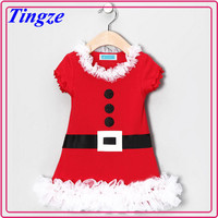 New design wholesale kids christmas frocks designs lovely 3 year old girl dress TR-CA05