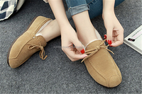 Manufacture ,facotry small quantity OEM/ODM women flats shoes