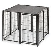 Factory galvanized comfortable pet product metal dog cage dog kennel for wholesales
