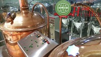 widely used copper beer machine/industrial alcohol distillation equipment for sale