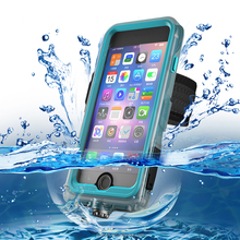 Hot selling shockproof waterproof PC+TPE+Silicone cell phone case for iPhone 7 7 Plus