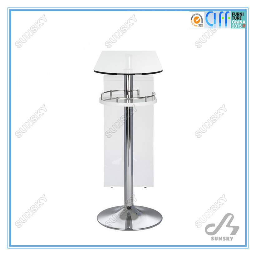 modern white bar table for home BA8513