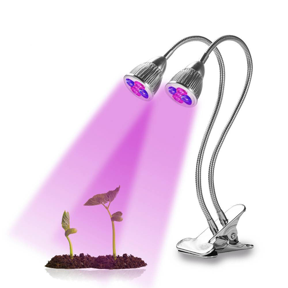 OEM/ODM  USB Connector Two Head  12V 10W LED Grow Light Indoor Plant