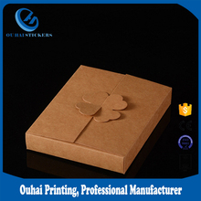 Factory Wholesale Price CD/DVD packing box cards paper box