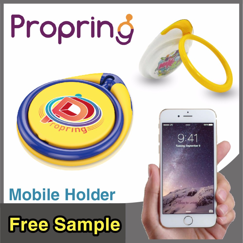 Bestseller Small Gift Items for Cell Phone Accessories Stand Portable Finger Ring Holder for Office Gift