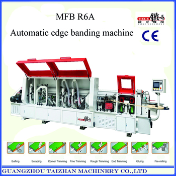 Woodworking PVC Automatic Edge Banding Machine