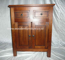 Minimalist Commode Mindi Wood Sideboard Classic Cupboard Cabinet Buffet European Home Furniture