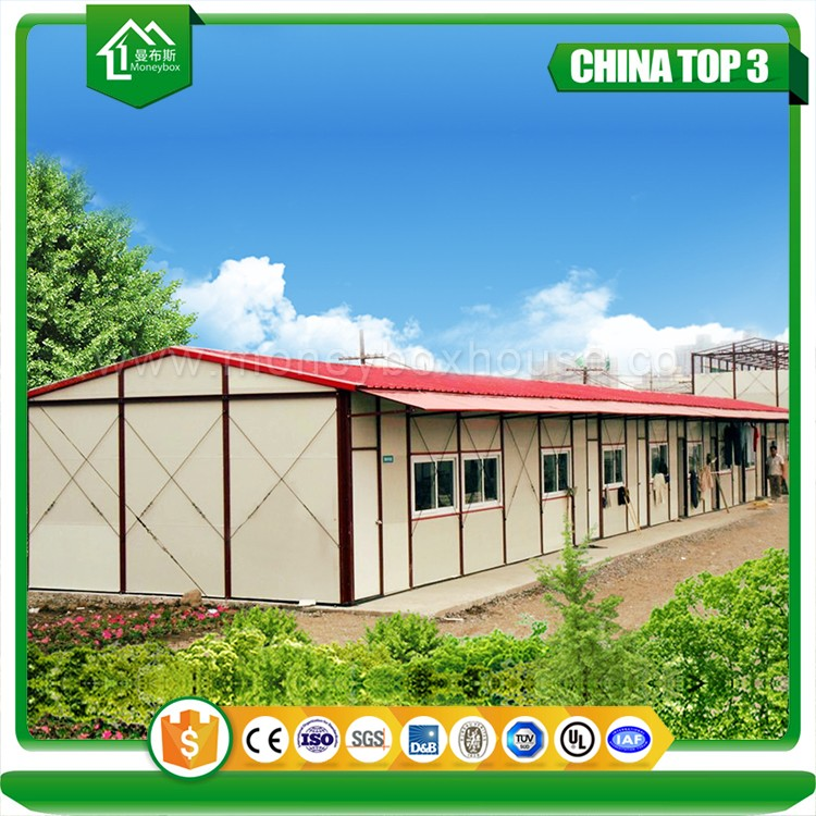Earthquake prevent Low cost hurricane proof prefab modular homes for poultry farms