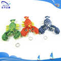 Cute soft simulate lobster toys/plush keychain/soft lobster pendant