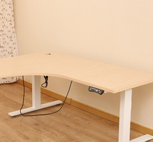 New design Two legs share adjustable desk with UL&CE&SGS