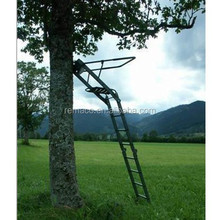 Hunting Equipment Aluminum Folding Hunting Tree Ladder Stand Seat Hunting Tree Stand TS1343
