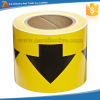 Yellow/Black Arrows Pattern Pipe Marking Tape