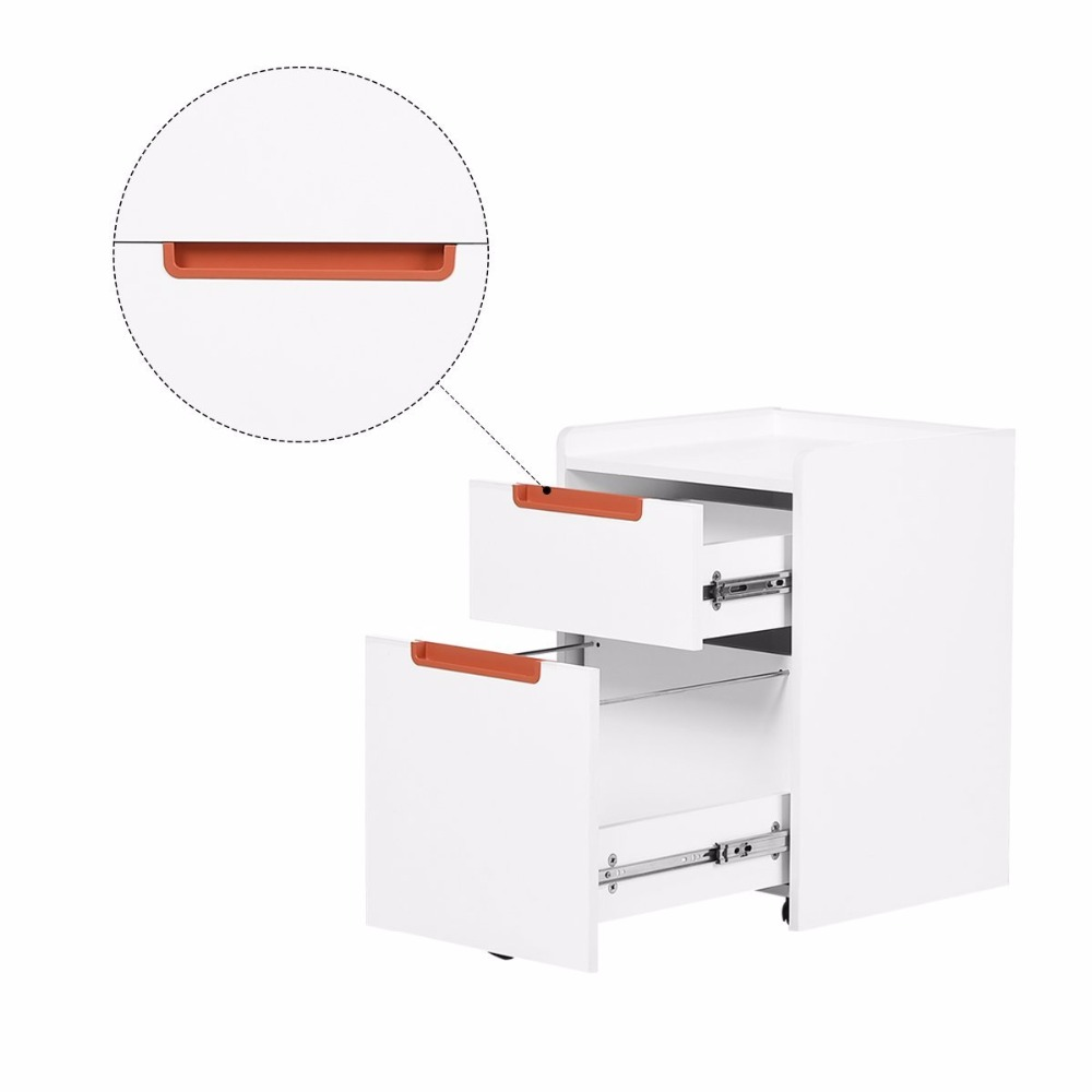2-Drawer Office Filing Cabinet