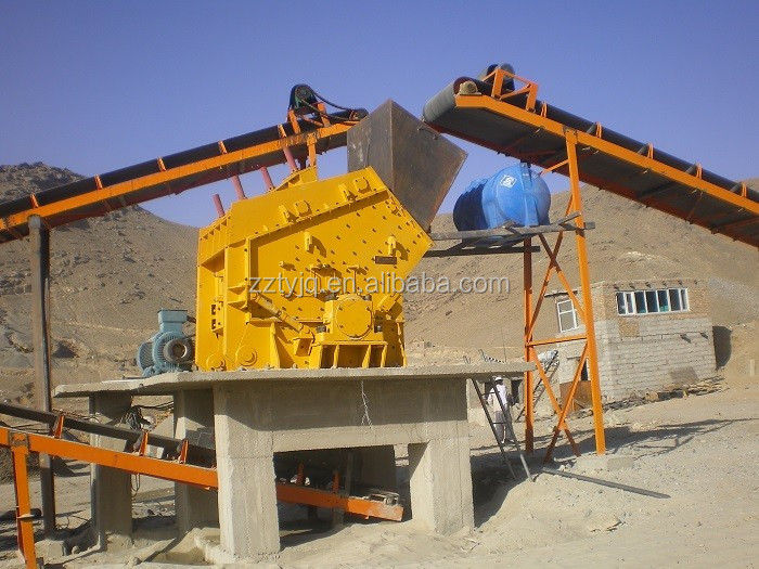 Hammer Crushing Stone : Impact crusher stone plant rock pulverizer buy