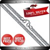 Trendy Thick Chain Silver Necklace for Young Boys, Hot Selling mens silver chain necklace