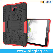 Dual Layer Rugged Kickstand Stand PC TPU Tablet Case For Samsung Galaxy Tab A 10.1 T580