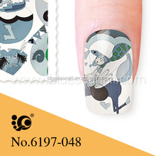 stamp sticker ceramic water slide decals