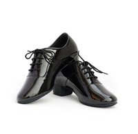 Man latin shoes wholesale leather latin dance shoes for boys ballroom dancing shoes