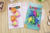 Promotion Printed Product Skull Toys Eraser Set