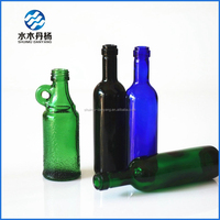 50ml colored facny alcohol drinking glass bottle empty liquor bottles