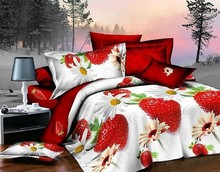 100% polyester king size bed spread comforter set cheap luxury wholesale 3d bedding sets 3d printed dubai bed cover set