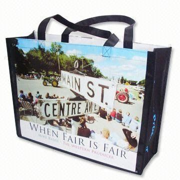 Best selling pp woven shopper with custom print,OEM orders arewelcome
